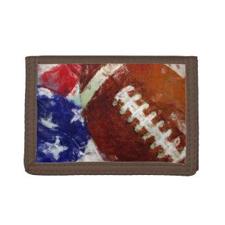 Football USA Trifold Wallet
