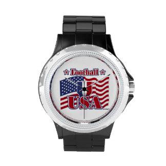 Football USA Wrist Watch