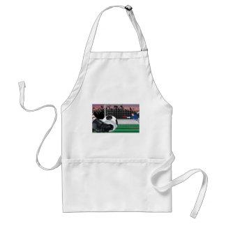 Football vector design adult apron