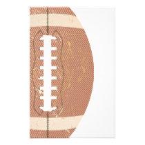 football vintage stationery