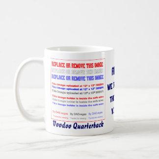 Football Voodoo Quarterback Please view notes Coffee Mug