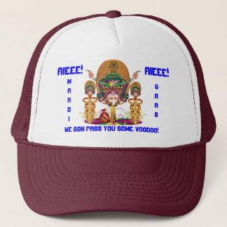 Football Voodoo Quarterback Please view notes Trucker Hat