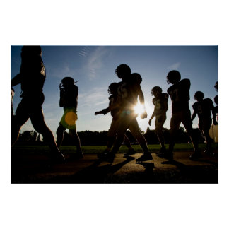 Football Walk Posters