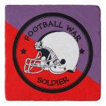 Football Warrior Trivet