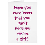 Football - White Text Greeting Card