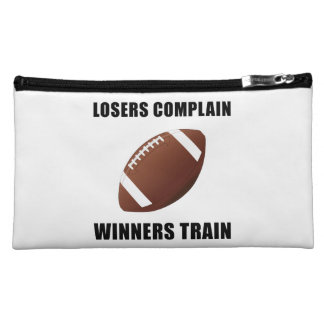 Football Winners Train Cosmetic Bag