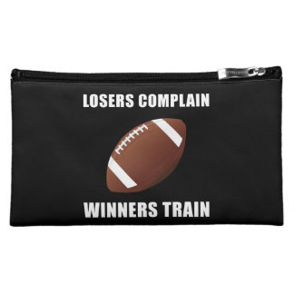 Football Winners Train Makeup Bag