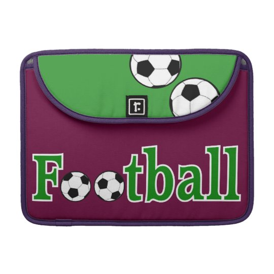Football with Balls MacBook Pro Sleeve