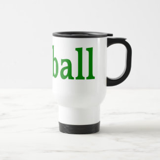 Football with Balls Travel Mug