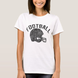 Football with Helmet T-Shirt