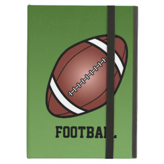 Football With Text iPad Folio Case