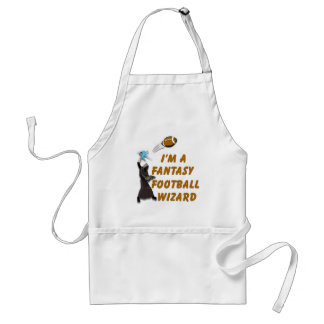 Football Wizard #1 Adult Apron