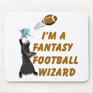 Football Wizard #1 Mouse Pad