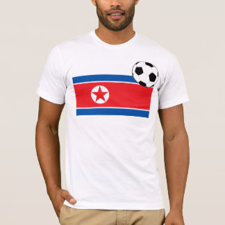 Football World Cup DPRK NORTH KOREA T-Shirt