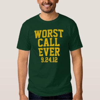 Football Worst Call Ever 9/24/12 Shirt