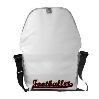 Footballer Classic Job Design Messenger Bag