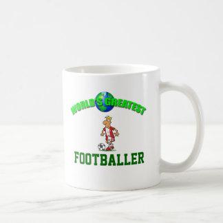 Footballer- Worlds Greatest Mug