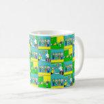 Footballers & Fans Coffee Mug