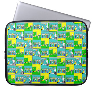 Footballers & Fans Laptop Sleeve