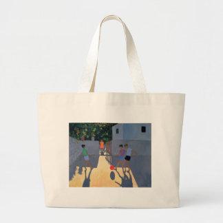 Footballers Kos 1993 Large Tote Bag