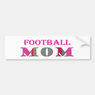 FootballMom Car Bumper Sticker