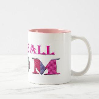 FootballMom Two-Tone Coffee Mug