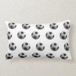 Footballs Art Pillow