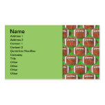 FOOTBALLS Double-Sided STANDARD BUSINESS CARDS (Pack OF 100)