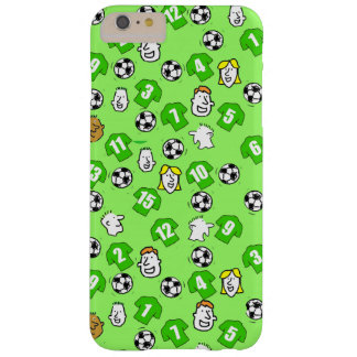 Footballs, Green Shirts, & Fans Barely There iPhone 6 Plus Case
