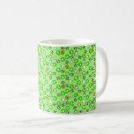 Footballs, Green Shirts, & Fans Coffee Mug