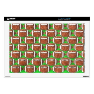 FOOTBALLS Laptop Skin