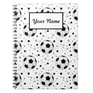 Footballs Spiral Notebook