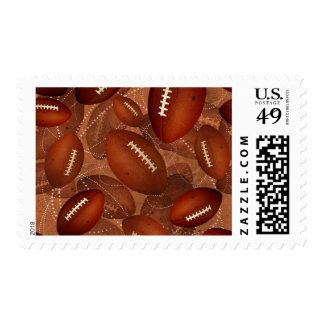 Footballz! Postage Stamps