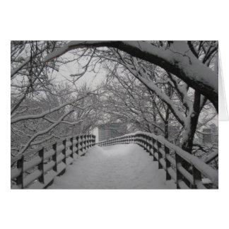 Footbridge Card