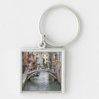 Footbridge in Venice Key Chains