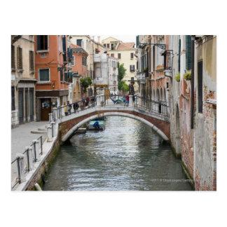 Footbridge in Venice Postcards