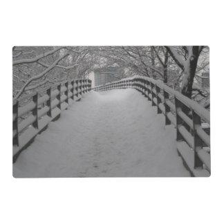 Footbridge Laminated Place Mat