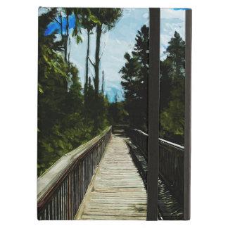 Footbridge Over Canadian Canyon iPad Air Covers