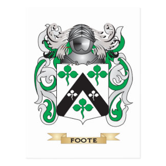 Foote Coat of Arms Post Cards