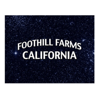 Foothill Farms California Postcard