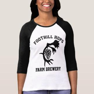 Foothill Hops Ladies Block T T-Shirt