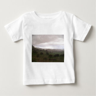 Foothills and mist baby T-Shirt