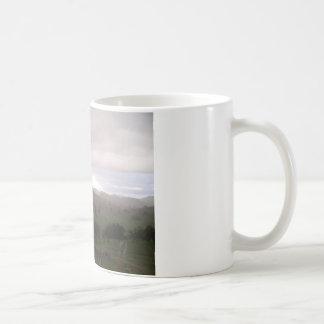 Foothills and mist coffee mug