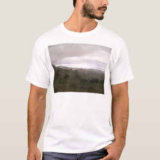 Foothills and mist T-Shirt
