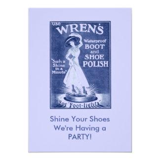 Footlights Invitation