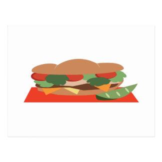 Footlong Sandwich Postcard