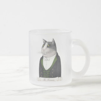 Footman Cat Frosted Mug