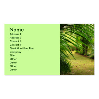 Footpath Business Card Templates