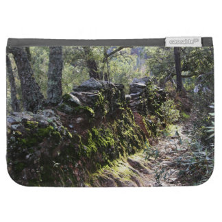 Footpath covered with nature in the mountain range kindle 3G cases