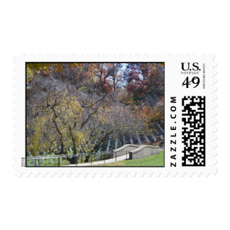 Footpath through arlington stamp